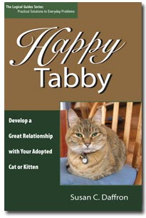 happy tabby cover